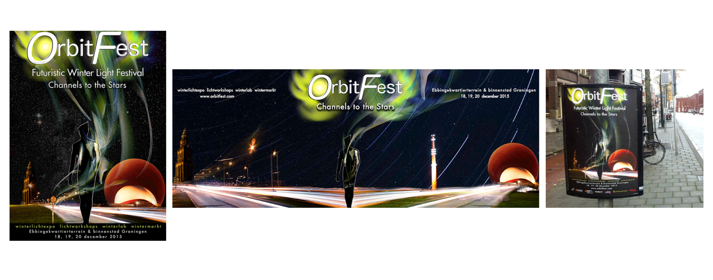 Orbitfest - Poster art and promotional materials -  www.orbitfest.com