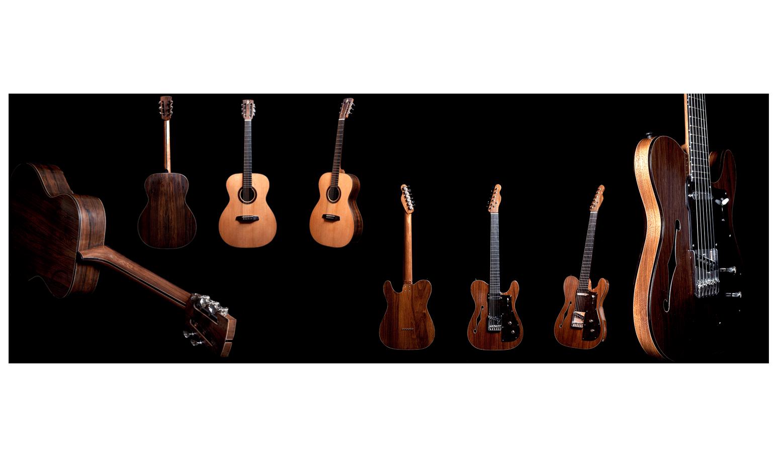 Jeppe Gooskens custom guitars - 2016
