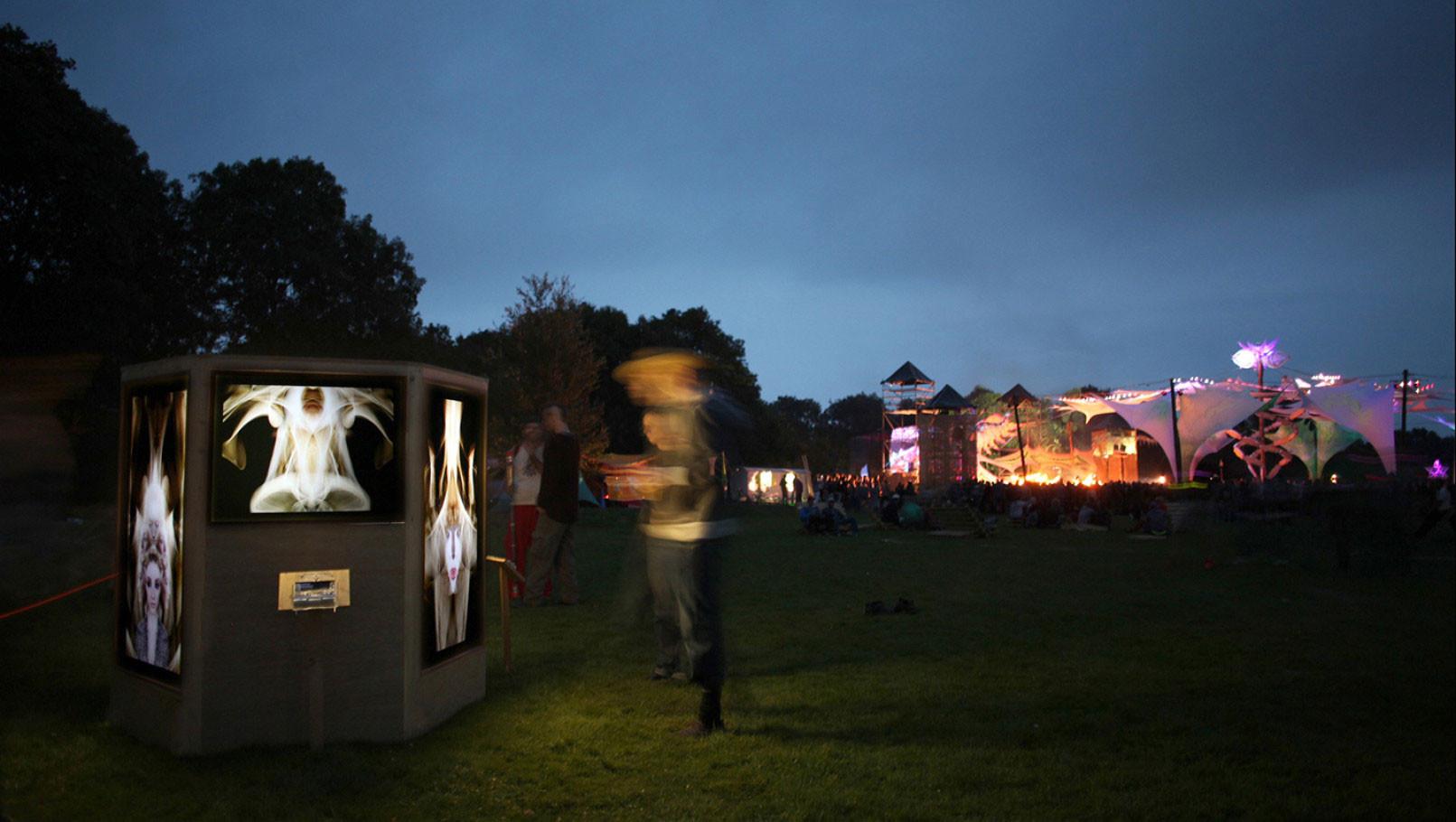 Psy-Fi festival 2014 - Art installation - www.psy-fi.nl