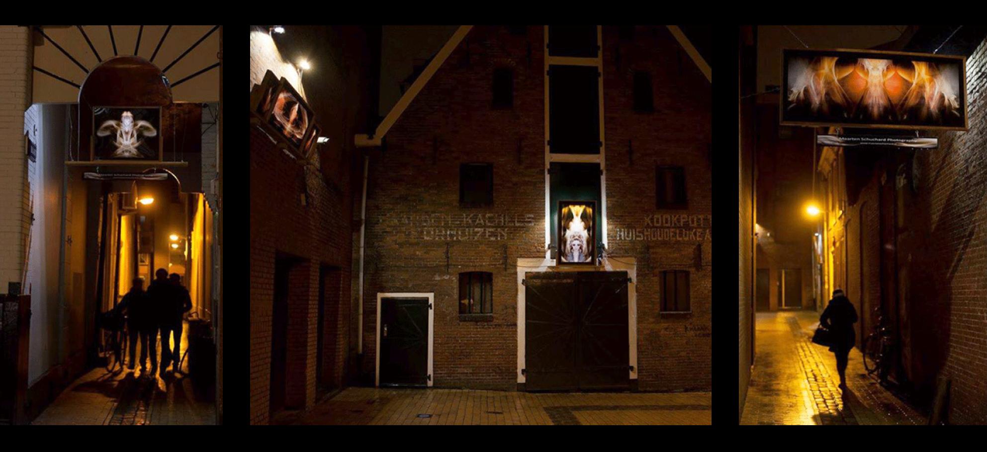 Gemeente Groningen 2015 - Art installation Stadsverlichting I
