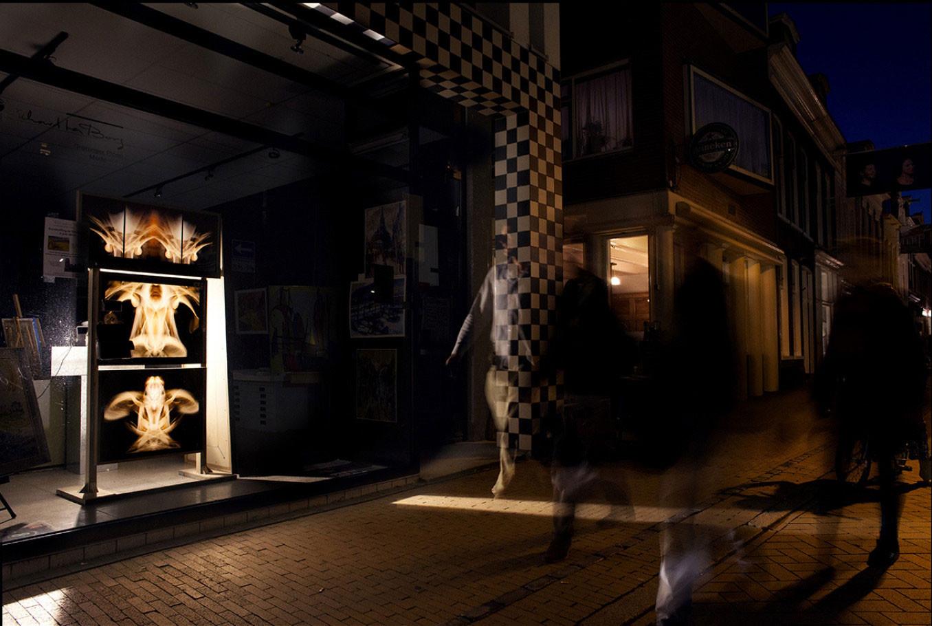 Nacht van kunst en wetenschap  2013 - Art installation